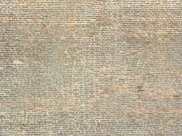 free large high old brick wall stock photo