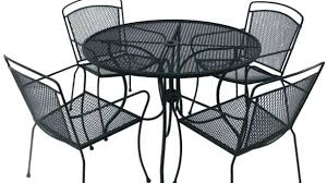 White iron outdoor furniture Garden Full Size Of Black Wrought Iron Outdoor Table Furniture Chairs Elegant Patio Sets Set Metal With Pickintimeappcom Black Rod Iron Patio Furniture Wrought Porch Tables Pros And Cons