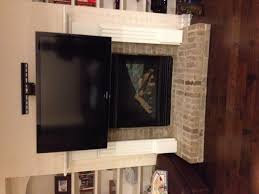 fireplace tv mount fireplace flat panel fireplace tv dynamic mounting