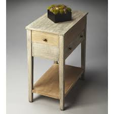 image narrow chairside table