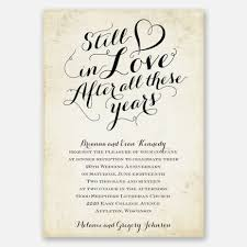 25th wedding anniversary invitations lovely still in love anniversary invitation