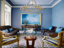 Yellow And Blue Living Room Decor Blue Living Room Decor And Furniture Color Zeevolve Accent Chairs