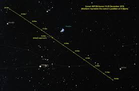 Comet Wirtanen Finder Chart Comet Wirtanen Visible Now Comet Watch