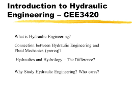 Introduction to Hydraulic Engineering – CEE ppt video online download