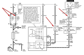 1999 f150 fuse box diagram 1999 image wiring diagram where is the alternator fuse in a 1999 f 150 on 1999 f150 fuse box diagram