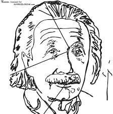 Small Picture Einstein By Andy Warhol coloring page Free Printable Coloring Pages