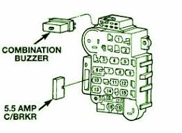 1999 jeep cherokee buzzer fuse box diagram