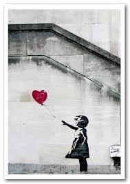 banksy heart balloon girl prints posters on banksy wall art prints with heart balloon girl banksy framed art giclee art print