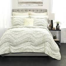 pixel bedding set lush decor pixel wave line 6 piece comforter set pixel bedding set full