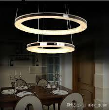 modern led chandelier acrylic pendant lamp living room dining room hanging light home decoration lighting fixture modern led chandelier light modern dining