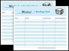 Reading Log Chart Printable Reading Log Sheet Fellowes