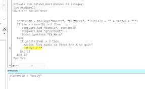 Excel Vba Type Mismatch Excel Error Excel Error Handling Excel On
