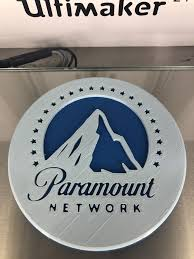 Paramount network is an american basic cable television channel owned by viacomcbs. 3d Printed Paramount Network Drinkcoaster By Idealab Pinshape