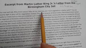 Alliteration And Letter From The Birmingham Jail Youtube