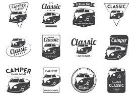 Vintage Logo Vector Vw Camper Vintage Logo Vector Free Vector Download 370103 Cannypic