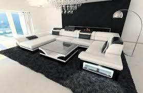 big leather sofa atlanta with led lights