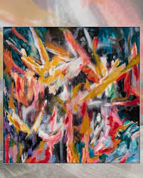 extra large abstract wall art big