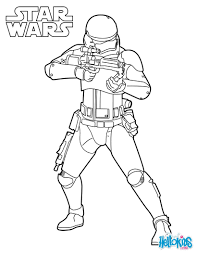 Coloriages Star Wars Fr Hellokids Com Coloriage Star Wars The Clone Wars L