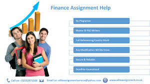 finance assignment assistance elite assignment special features