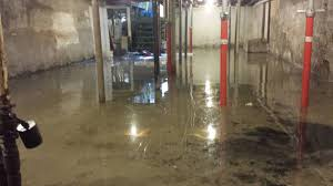 flooding basement floor