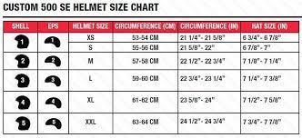 Bell 500 Helmet Size Chart Bell Custom 500 Ece Helmet Stripes