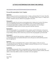 Character Reference Letter Samples Template Sample Request
