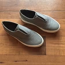 Vince Nelson Slip On Denim Sneakers