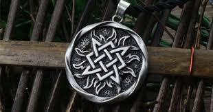 1pcs small Svarog square pendant. Star Rus amulet pendant ...