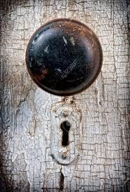 Decorating vintage door knob pictures : Rustic Vintage Doorknob On Antique Door, Background Stock Photo ...