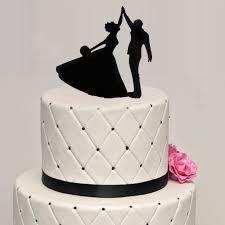 Wedding Acrylic Dancing Cake Topper Wedding Party Decorating Cake