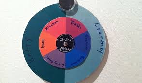 Apartment Chore Chart Free Downloadable Chore Wheel Divide And Conquer Your Apartment