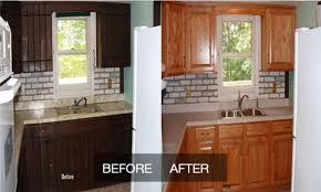 home depot cabinet refacing before and after. Image Of: Before And After Kitchen Cabinet Painting Home Depot Refacing