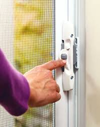 odl brisa retractable screen doors lock