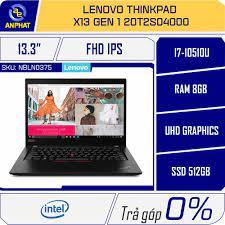 Laptop Lenovo ThinkPad X13 Gen 1 20T2S04000 Chính Hãng