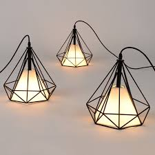 Vintage industrial pendant lights modern retro cage lamps E27