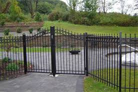 27 Fence Gate Options by Style Shape Material and Panel