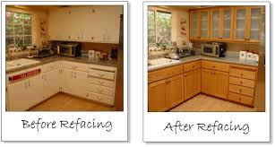 kitchen cabinet refacing before and after diy cabinets reface