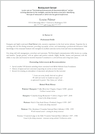 resume for restaurant resume sample for food service barca fontanacountryinn com