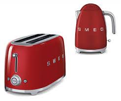 Retro Toasters smeg tsf02rduk klf01rduk 50s retro style 4 slice toaster 1593 by uwakikaiketsu.us