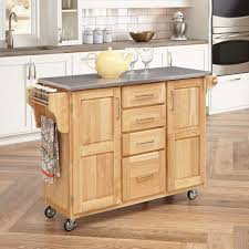 rolling kitchen trolley portable kitchen island with seating wood kitchen cart rolling butcher block island
