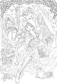 Online Anime Fairy Coloring Pages 59 For Your Coloring Pages for ...