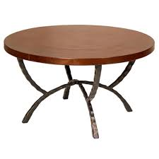 hudson 36 inch round cocktail table 7551 occasional table