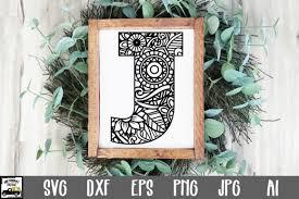 Chevron alphabet, chevron letters, svg files, dxf files, vector art, cricut design space, silhouette studio, digital cut files. 2 Letter J Cut File Designs Graphics
