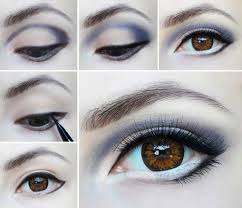 highlighting your eyes always gives a refreshing look to your makeup no matter what you do try mixing colors nicely to get this new look at home