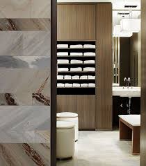 spa towel storage. Changing Room At Toronto\u0027s The Hazelton Hotel Patterned Marble Wall, Towel Storage Spa L