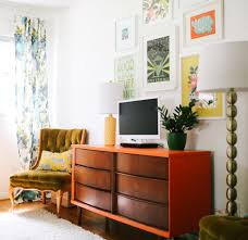 Quirky Living Room In Kentucky Color And Pattern Make Up A Quirky Family Home