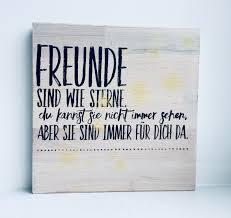 Anlässe Holzbild Spruch Freunde Geschenk Beste Freundin