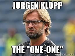 Find and save jurgen klopp memes | from instagram, facebook, tumblr, twitter & more. Jurgen Klopp The One One Grumpy Klopp Meme Generator