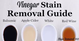 Vinegar Stain Removal Guide For Apple Cider, Balsamic & Red Wine Vinegar