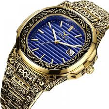 ONOLA luxury brand quartz origin watch men <b>2019 gold</b> classic ...